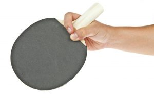 table tennis paddle pen hold grip